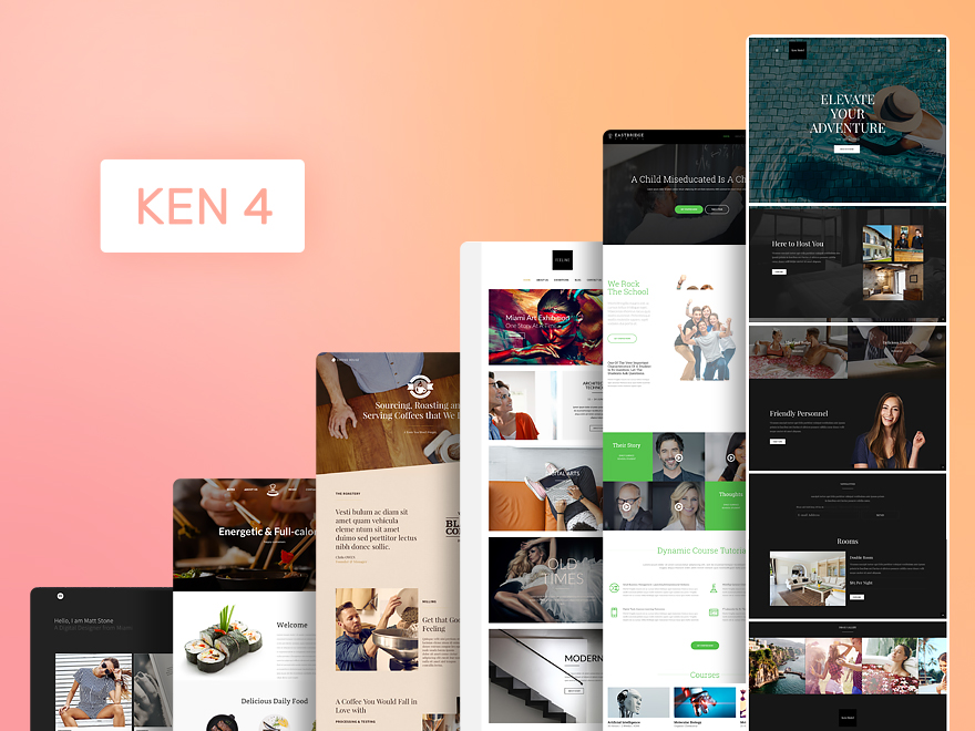 Ken - Multi-Purpose Creative WordPress Theme